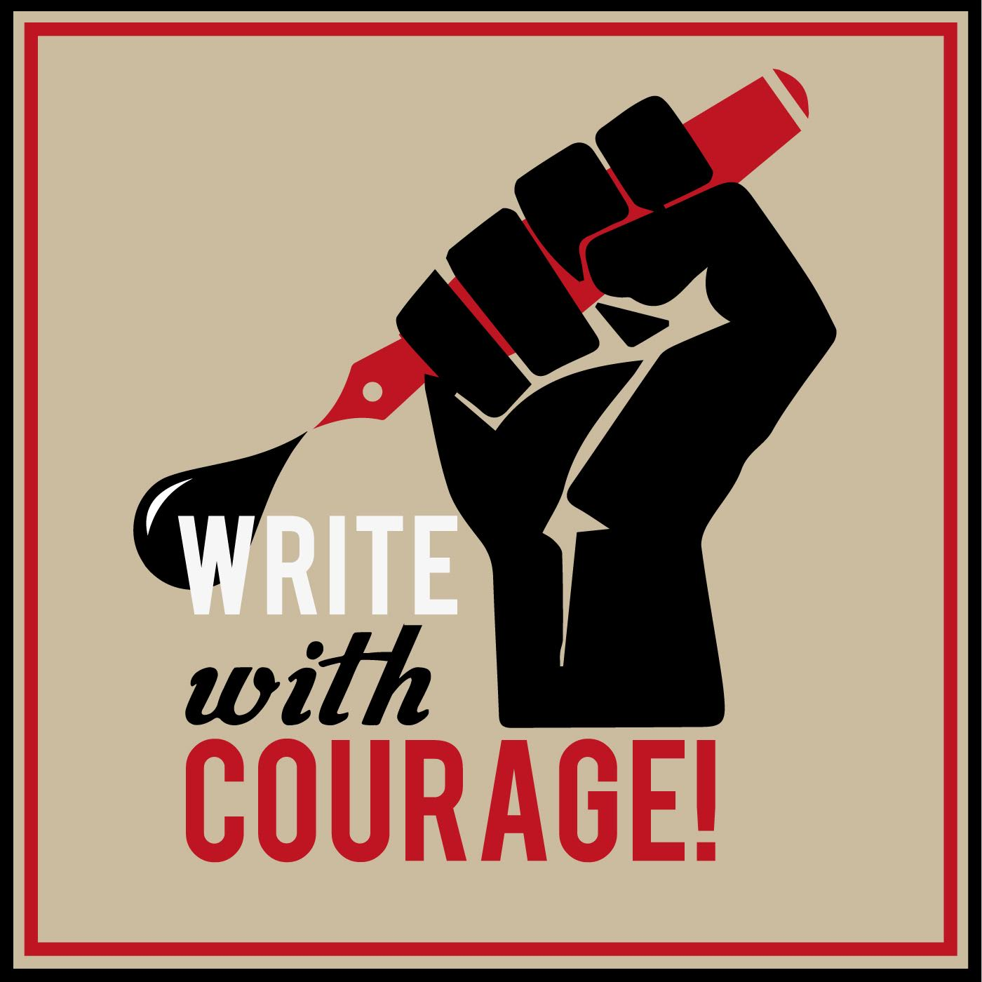 Write With Courage Thor Holt Donna Edmunds Nabeel Azeez