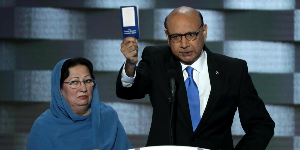 khizr khan ghazala khan democratic national convention 2016