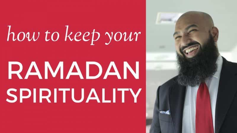 how to keep your ramadan spiritual state after eid post-ramadan tips