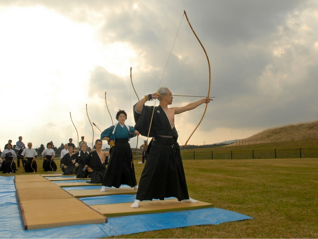 japanese archery kyudo focus mind void stillness